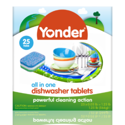 Yonder Dishwasher Tablets