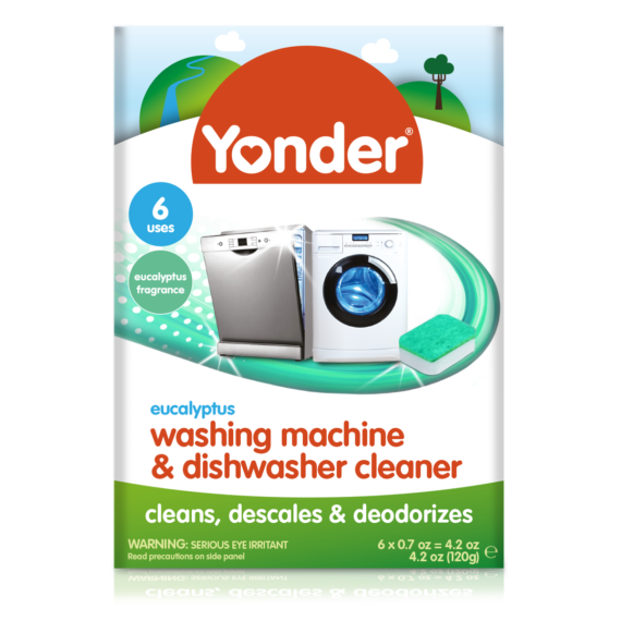 Yonder Dishwasher Cleaner out of pack