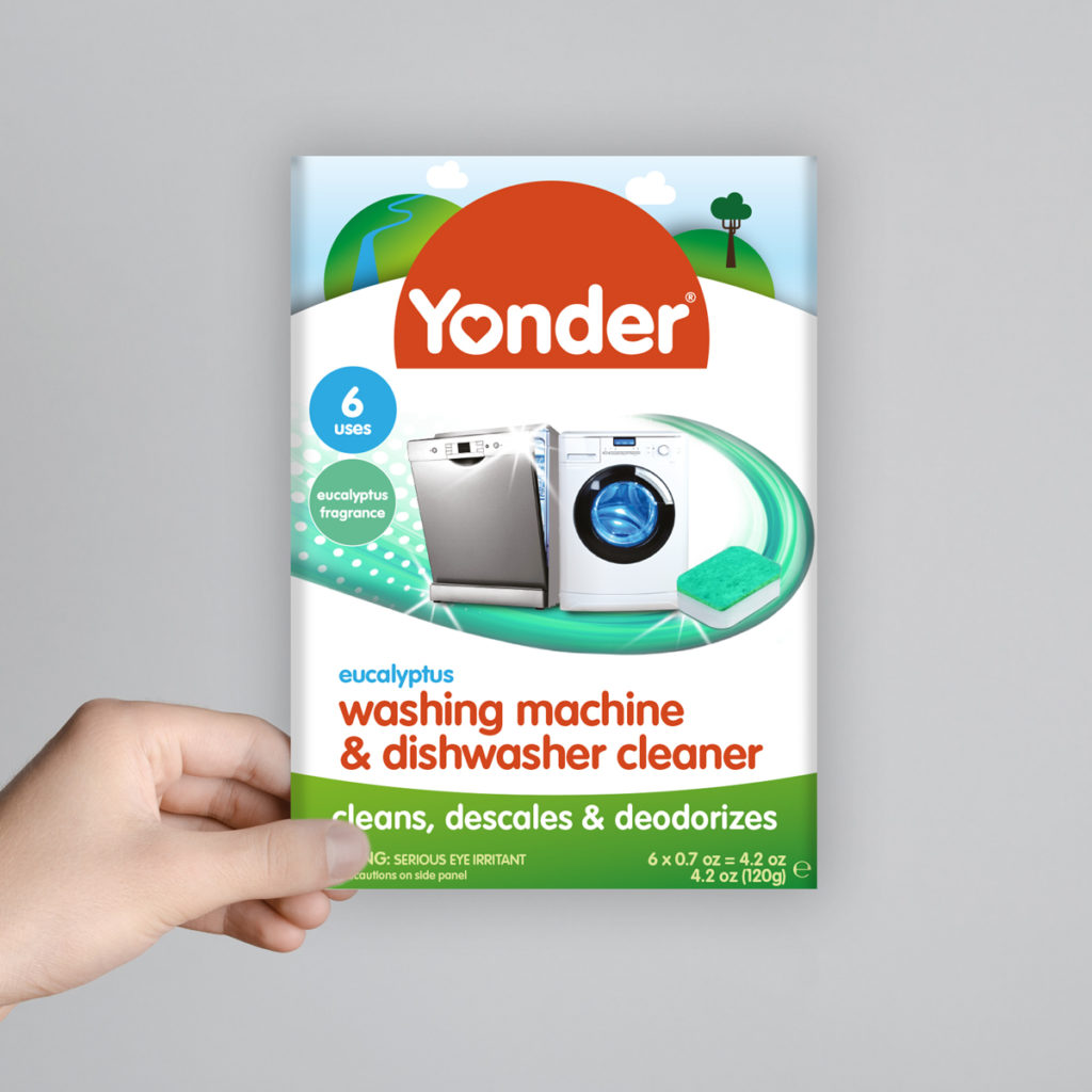 Yonder dishwasher cleaner