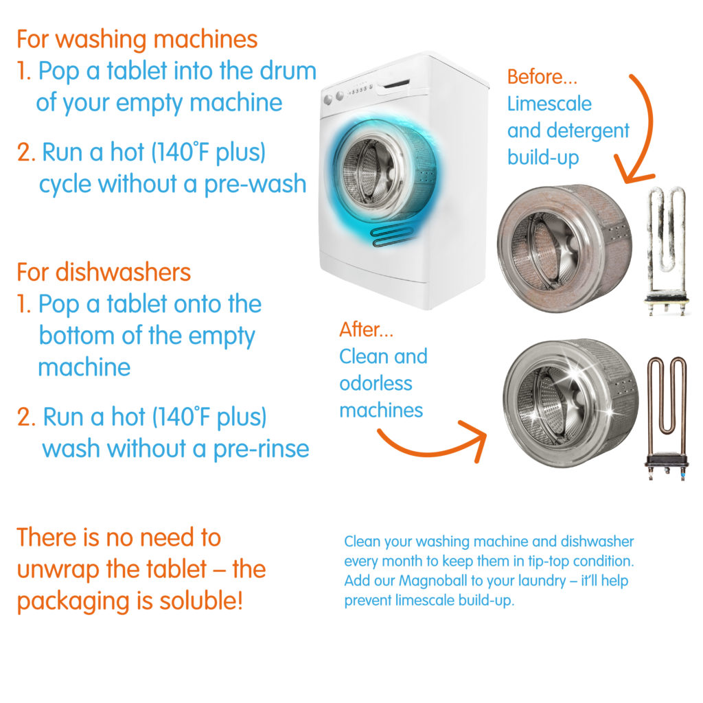 Yonder dishwasher cleaner how to use